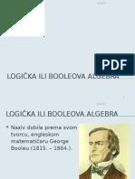 Booleova Algebra