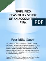 Marketing Aspect of a Feasib.study