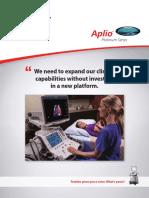 Aplio Platinum Series Innovation 2016