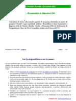 (GE) - DR1 - Orçamentos e Impostos