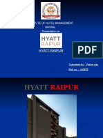 Hyatt Raipur IT PPT