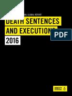 Death Penalty 2016 Report Embargoed