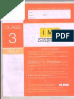 IMO Set a Class 3 2016
