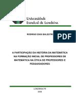Participacao da Historia da Matematica na formacao inicial de professores.pdf