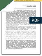 Ética en La Investigación Médica- Patricia Colque Espinoza