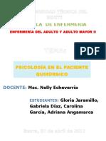 Psicologia en el paciente quirúrgico