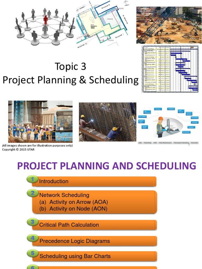 Topic3projectplanningandscheduling forstudentpdf topic3projectplanningandscheduling forstudentpdf technology business pooptronica
