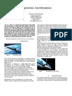 Hypersonic Aerodynamics