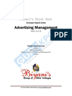 Advertising Mangement
