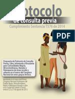 Consulta Previa- Protocolo