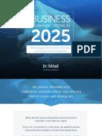 Business Communications 2025 eBook En
