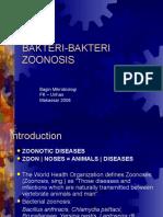 BAKTERI-BAKTERI ZOONOSIS