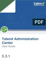 Talend AdministrationCenter UG 5.3.1