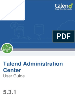 Talend AdministrationCenter UG 5 3 1 | Provisioning | Web Application