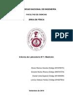 Informe 1 Medición Física I