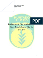 Manual de Convivencia Liceo Jorge Iribarren Charlín