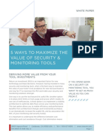 5 Ways to Maximize Value Security Monitoring Tools PDF 7 w 2973