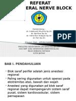 PPT Referat Anestesi