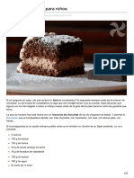 Thermorecetas.com-Tarta de Chocolate Para Niños