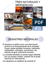 Desastres Naturales y Emergencias Final