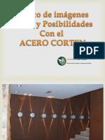 Banco de Imagenes ACERO CORTEN