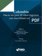 Colombia Hacia Un Pais de Altos Ingresos Con Movilidad Social