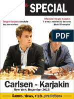 New in Chess Carlsen-Karjakin