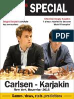 New in Chess Carlsen-Karjakin