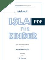 Islam für Kinder Malbuch
