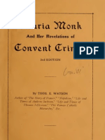 (1927) The Maria Monk Story