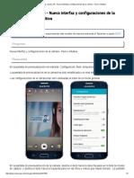 Samsung _ Galaxy S6 - Nueva Interfaz y Configuraciones de La Cámara - Fácil e Intuitiva