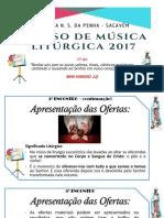 5º Dia Curso de Música Litúrgica Penha
