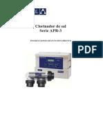 Manual Clorador AstralPool APR-3 Español