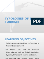 Typologies of E-Tourism