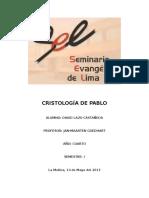LA CRISTOLOGIA DE PABLO.docx