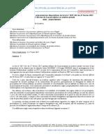 Droit pénal_reforme de la prescription en matière pénale_2017