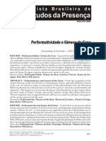Performatividade e Gênese da Cena_Sílvia Fernandes