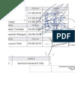 Proc Fabricación, Montaje de Casing en Pozos Pilotes