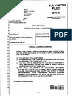 State Bar Discipline of  Melissa Renee  Mc Kowan  in San Mateo DA Office -March 2017