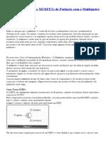 Como Testar IGBTs e MOSFETs de Potência com o Multímetro (INS010).pdf