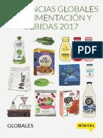 Mintel Tendencias de Alimentacion y Bebidas 2017