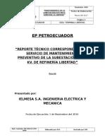 Informe de Matenimiento en Refineria Libertad 01-11-2016_2