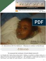 Journal L'Aurore édition N°5
