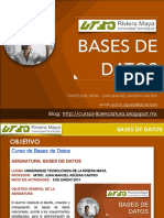 Presentacion de Curso Bases de Datos