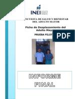 Informe Final  Encuesta de Bienestar del Adulto Mayor