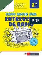 FCC2-Guía de Cómo Hacer Una Entrevista de Radio