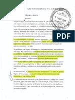 Carta de Sureda a Aranguren