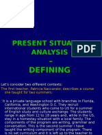 Unit 3- PSA -Defining Context in CD and SD