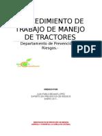 Procedimiento de Trabajo Seguro de Tractor
