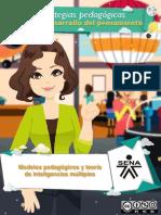Material Modelos Pedagogicos y Teroria de Las Inteleigencias Multiples